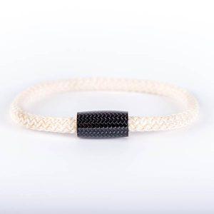 Bracelet_Carbon_Fiber_Surf_Cord_White-zakcode
