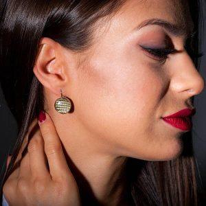 Girl with Earrings_Carbon_Fiber_Circles_Yellow2-zakcode