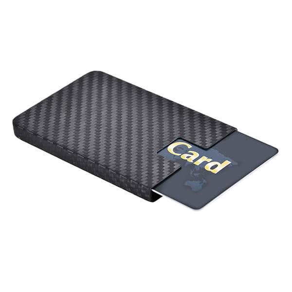 Carbon fiber card holder Carbon Touch