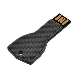 Carbon Fiber USB memory in a shape of a key